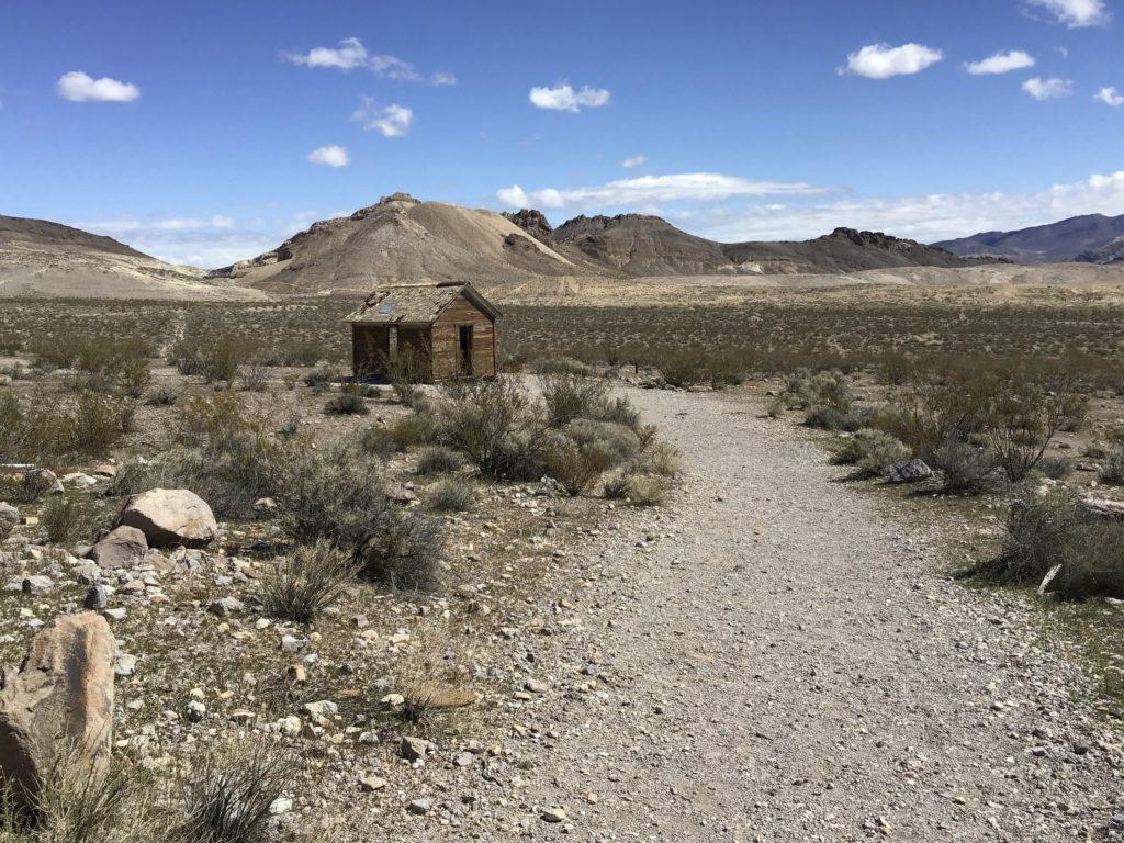 Rhyolite ghost town residence